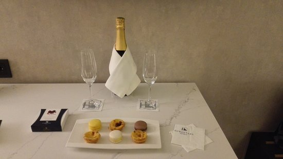 Eurostars Museum: Nice Welcome package for couples!
