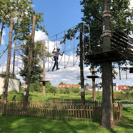 Park Linowy Osrodka Sportu i Rekreacji w Lubawie