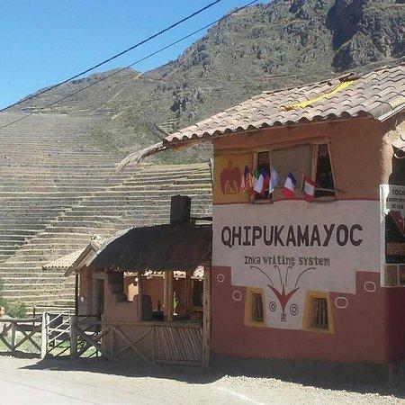 Pisac, Περού: Escritura Inka _ Inka Writing System
