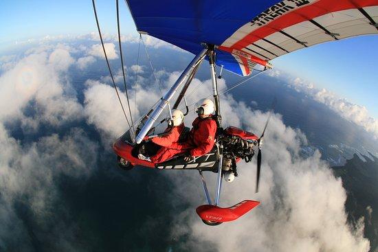 Oahu's North Shore, HI: North shore, HI hang gliding