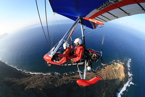Oahu's North Shore, HI: hang gliding in hawaii