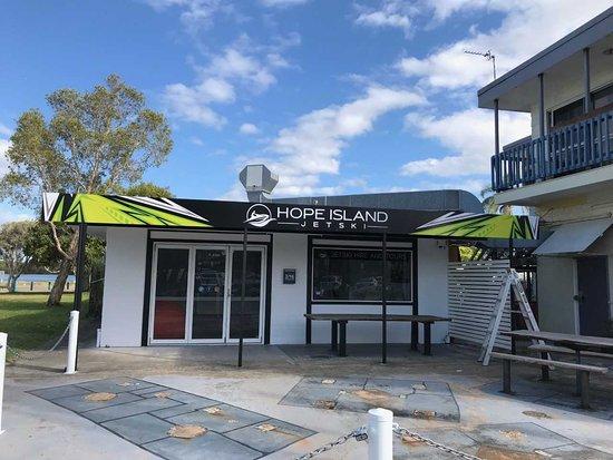 Hope Island Jetski
