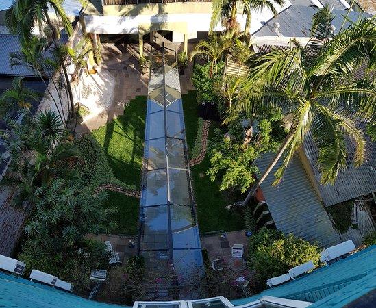 Ritter Hotéis: Vista do Jardim