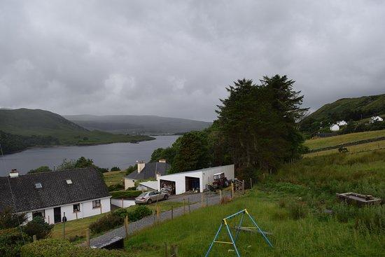 Dunlewey, ไอร์แลนด์: view from my bedroom window upstairs room