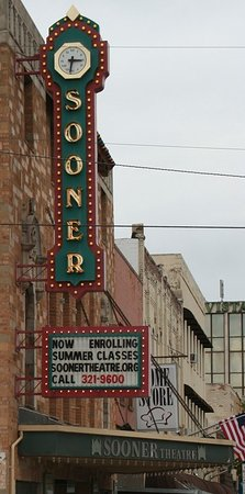 Norman, OK : Sooner Theater Marquis