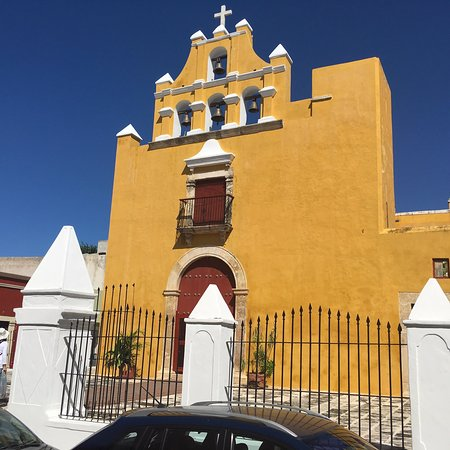 Campeche, Mexico: Iglesia del Dulce Nombre de Jesus