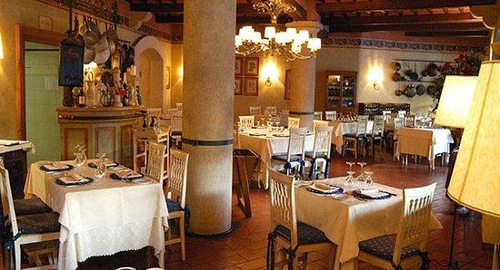 Calcinaia, Italien: Restaurant