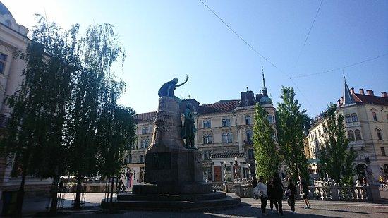 Ljubljana Old Town Photo