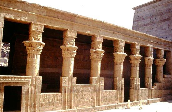 Philae-Egitto: fascino del tempio