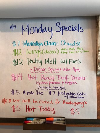 Waterford, NY: Specials