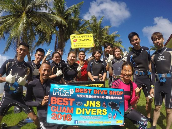 Guam Diving JNS Divers Guam