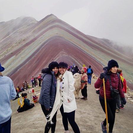 Machupicchu Best Trips: Nuestra querida Ingrid.. Montaña de Colores