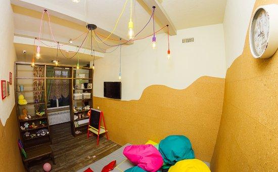 детская комната в Cafe POLSYANKA
