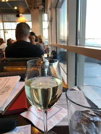 Legal Sea Foods: my white wine