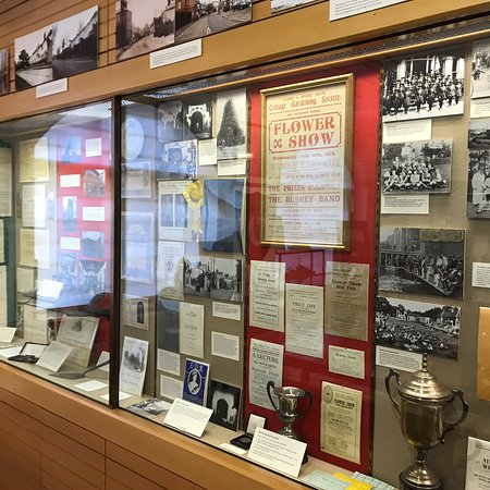 Displays inside the museum