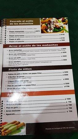 Las Mananitas San José Restaurant Bewertungen Telefonnummer