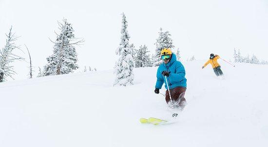 Bend, OR: Skiing Mt Bachelor