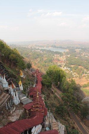 Panorami nei dintorni di Pindaya