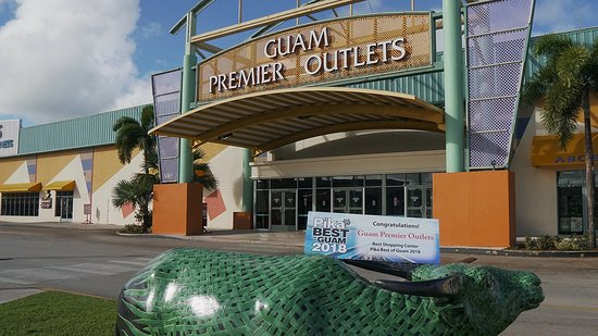 Tamuning, Mariana Islands : Guam Premier Outlets was voted Best Shopping Center on Pika's Best of Guam 2017 & 2018!