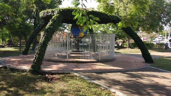 Itaocara: Praça em frente a prefeitura!