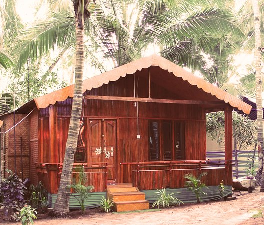 Patnem, Indie: it our new wooden bungalw (20018 -2019)