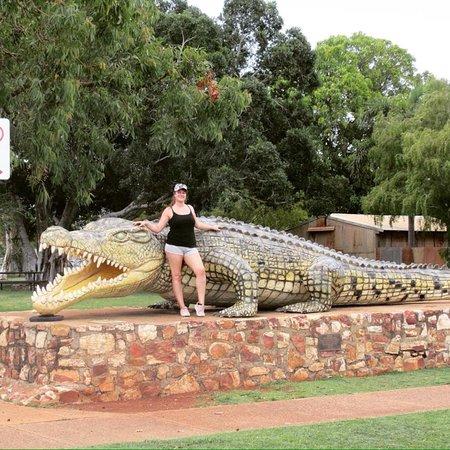 Normanton, Australia: Krys the Crocodile