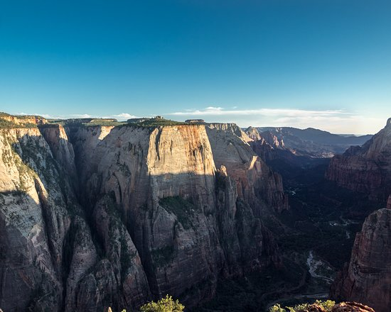 Observation Point: Admiring mother nature's work of art