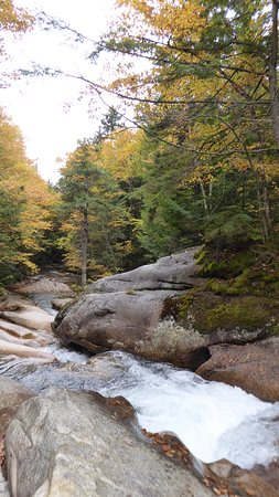 The Basin at Franconia Notch State Park: A view on every corner