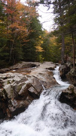 The Basin at Franconia Notch State Park: Always a delight