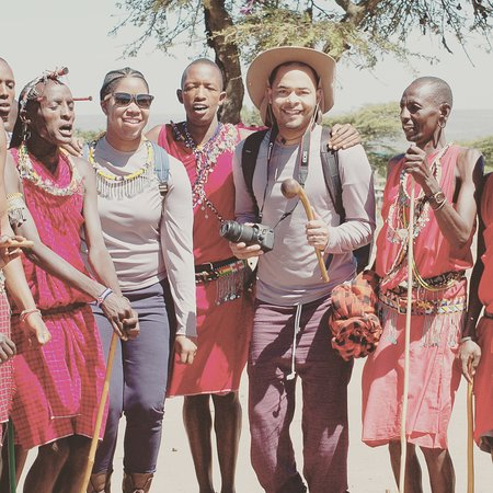 Masai village at Mara Masai national park