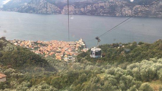 Wjazd na Monte Baldo