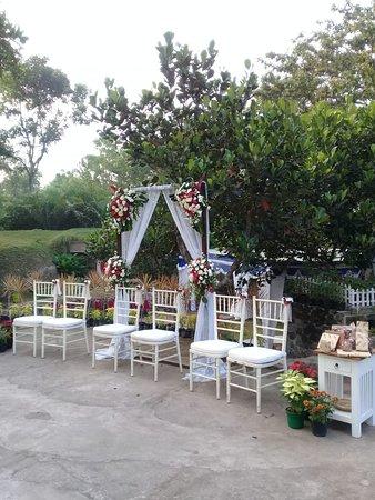 Garden Party wedding di Rumah Matahari Turi dgn harga terjangkau.