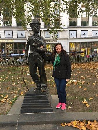 Charlie Chaplin Statue