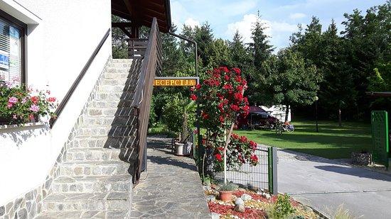 Prebold, Slovenia: Campsite entrance