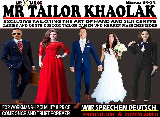 Mr Tailor Khao Lak