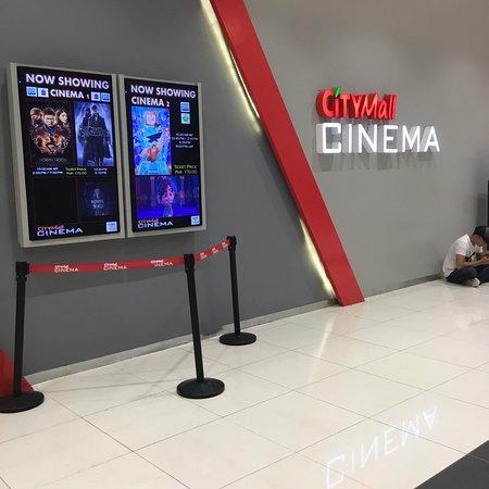 Cotabato City, Philippines: Mid November movie showing.