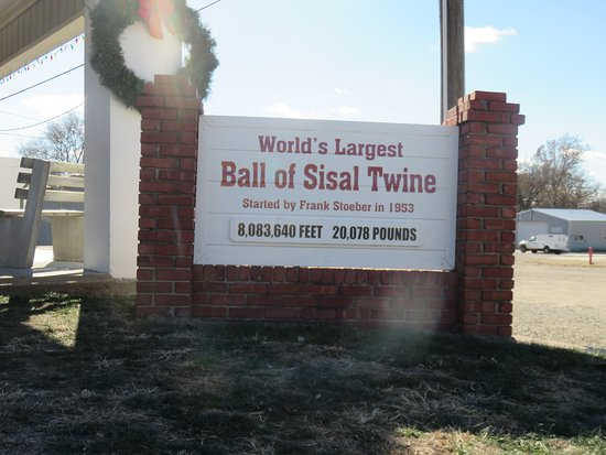 Cawker City, KS: twine