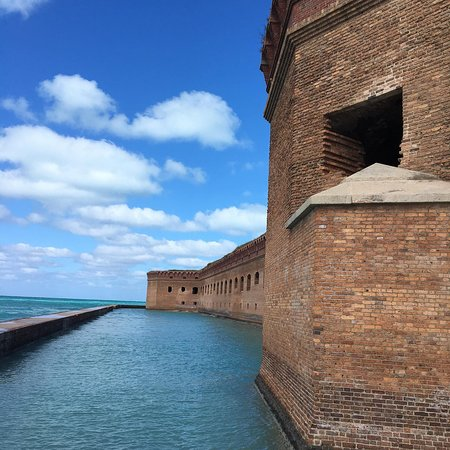 View from the mote wall - Fort Jefferson - Dry Tortugas National Park