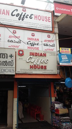 Indian Coffee House: Entrance