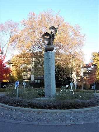 """Sculpture """"Sous le même ciel"""""""