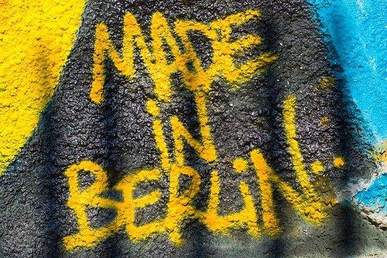 ベルリンストリートアートツアーとグラフィティワークショップ