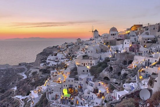 Santorini Sunset Dinner Cruise...
