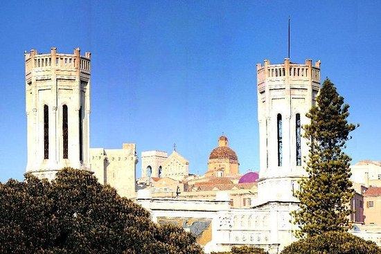 Recorrido por la ciudad de Cagliari...