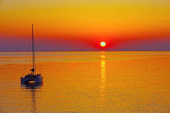 Santorini Sunset Luxury Sailing...
