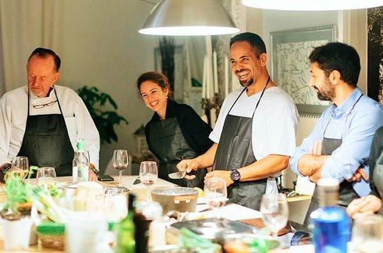 Clase de cocina mediterránea en...