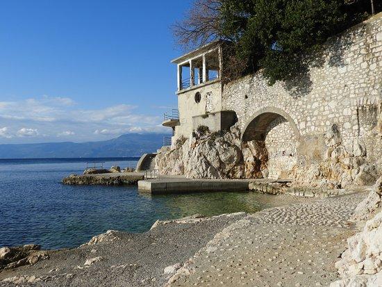 Rijeka, كرواتيا: Glavanovo beach, Rijeka