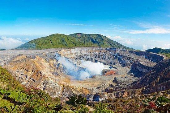组合游Poás火山 - 多卡咖啡种植园和拉巴斯瀑布花园