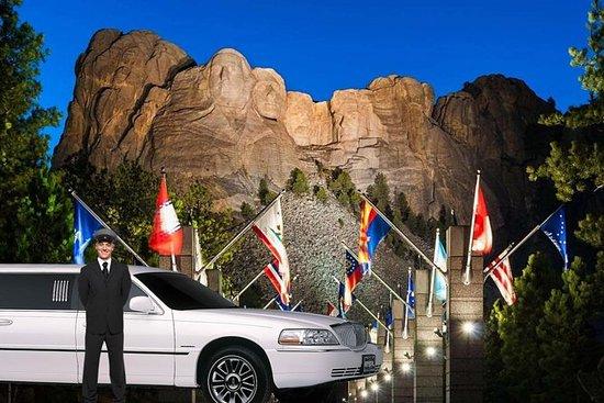 Cérémonie d'allumage du Mt Rushmore