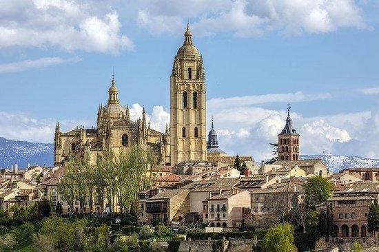Full dagstur til Segovia og Avila med...