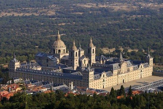 埃斯科里亚尔修道院和马德里堕落日游之谷